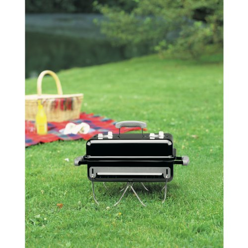 Product Image 4: Weber 121020 Go-Anywhere Charcoal Grill,Black,14.5