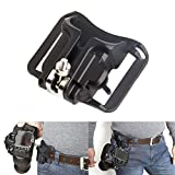 Fotasy Fast Loading Camera Waist Belt Holster Quick Strap Buckle Hanger for Canon Fujifilm Nikon Olympus Pentax Sony DSLR