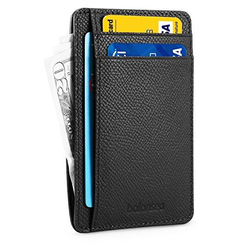 BALANSEA Front Pocket Wallet Slim RFID...