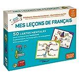 Mes leçons de français CP CE1 CE2: 50 cartes mentales pour comprendre facilement la...