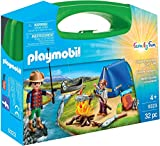 PLAYMOBIL- Carry Case Maletín Grande Camping (9323), Multicolor
