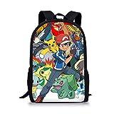 Sac à dos pour enfant avec motif animé Pokémon vintage Campus Pikachu...