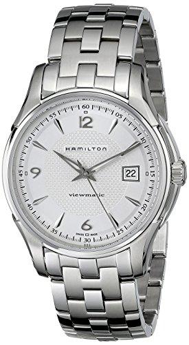 Hamilton Herren Analog Automatik Uhr mit Edelstahl Armband H32515155