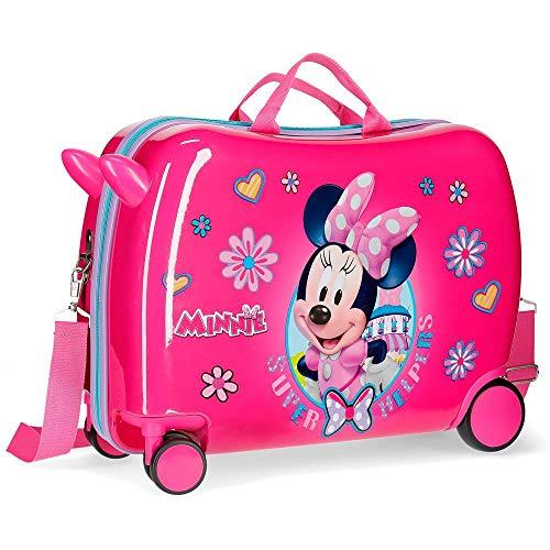 Disney Super Helpers Valigia per bambini 50 centimeters 39 Rosa