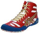 ASICS Men's JB Elite Wrestling Shoe,True Red/Olympic Gold/White,11 M US/44 EU