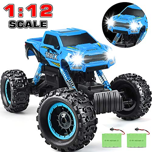 RC Car 2020 Newest 1/12 Scale Remote Control Car, 2.4Ghz Off Road RC Trucks with Two Rechargeable Batteries 60 Min Play Electric Toy Car for All Adults & Kids
