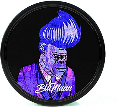 GEL POMADE FOR A VERSATILE, WELL-GROOMED LOOK: from a quiff, pompadour, ducktail to a dashing slick back look BluMaan's low shine pomade is your style ally for work, play and everything in between. CONTROLS ALL HAIR AND NATURAL SHINE: BluMaan men's h...