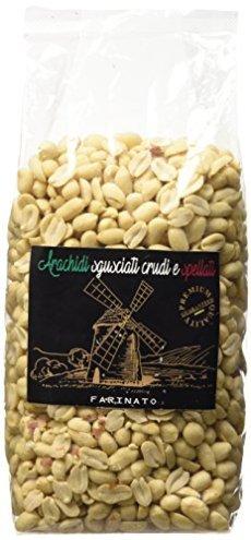Farinato Arachidi Sgusciate Pelate Crude - 1000 gr