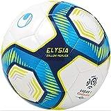 Uhlsport Elysia BALLON REPLICA LIGUE 1 CONFORAMA Unisexe, Blanc/Metallic...