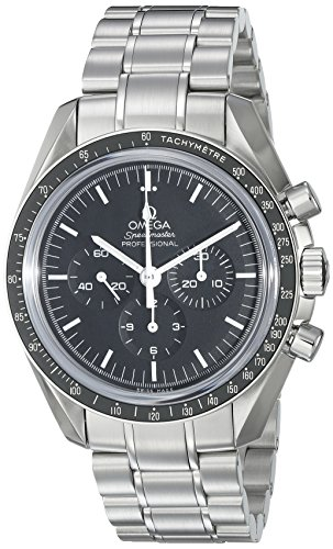 "Omega Speedmaster Professional ""Moonwatch"" - Reloj (Reloj de Pulsera, Acero Inoxidable, Acero Inoxidable, Acero Inoxidable, Acero Inoxidable, Hesalita)"
