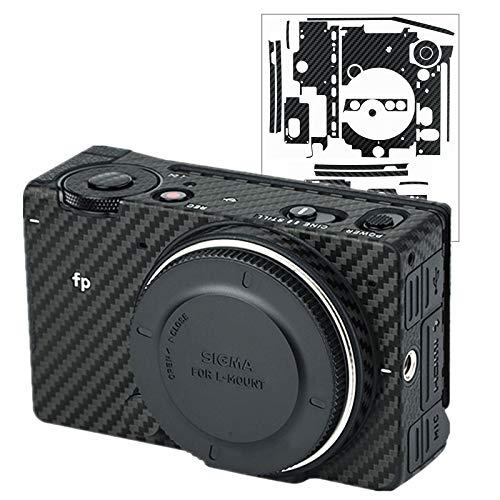 カメラ保護レザーフィルム Sigma FP に対応カメラ3M材料カーボンファイバ