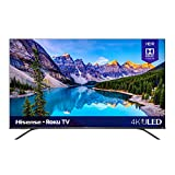 Hisense 55-Inch Class R8 Series Dolby Vision & Atmos 4K ULED Roku Smart TV with Alexa Compatibility...