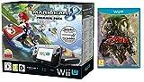 Contenu : Console Nintendo Wii U 32 Go noire + Mario Kart 8 préinstallé - premium pack The Legend of Zelda - Twilight Princess HD