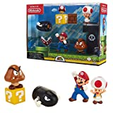 Jakks Pacific - Mario-Coffret 5 Figurines Nintendo