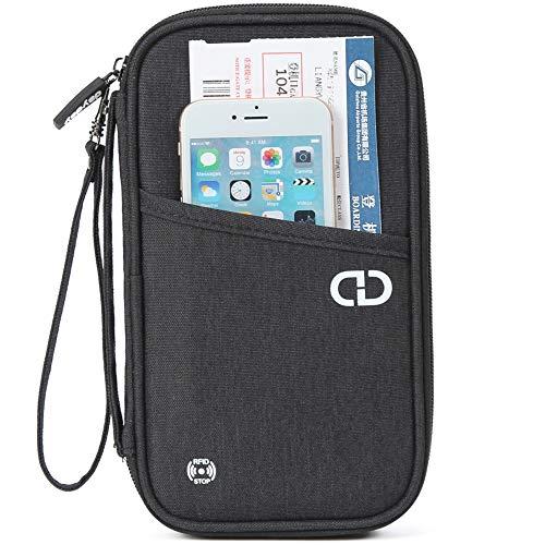 dayday Organisateur de Voyage Premium avec Blocage RFID. Porte-Passeport...