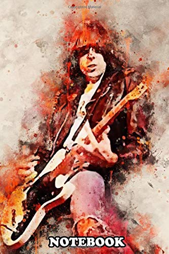 """Notebook: Johnny Ramone Is An American Guitarist And Songwriter , Journal for Writing, College Ruled Size 6"""" x 9"""", 110 Pages"""