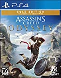 Assassin's Creed Odyssey - PlayStation 4 Gold Steelbook Edition (Video Game)