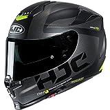 HJC RPHA 70 ST Helmet - Balius (X-Large) (Black/Grey/HI-VIZ)