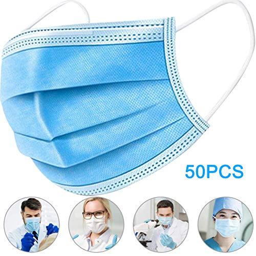TANGNING 50PCS 3 Strati in Tessuto Non Tessuto, sterili, igieniche, Portatili,