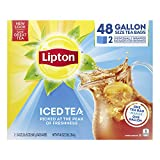 Lipton Gallon-Sized Iced Tea Bags Picked At The Peak of Freshness Unsweetened Can Help Support a...