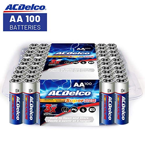 ACDelco AA Super Alkaline Batteries in...