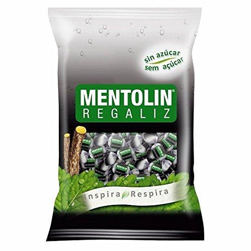 Mentolín Regaliz Caramelo Balsámico sin Azúcar - 1000 gr