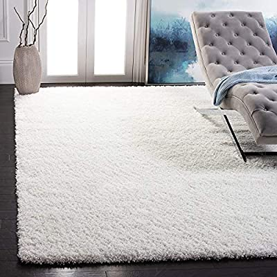 Safavieh's #1 selling shag rug Amazon's highest reviewed shag area rug with 6,000+ reviews Now available in over 20 different fashionable colors Plush texture with a cozy and luxuriously thick 2 inch pile height Easy care with virtually non shedding ...