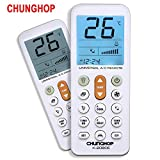 CHUNGHOP Universal Air Conditioner Remote Control for Daikin Hitachi Mitsubish Carrier Panasonic LG Sharp Haier Gree Midea Whirlpool Bosch Olympus Toshiba Samsung and More than1000 Brands