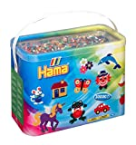 Hama - 208-67 - Loisirs Créatifs - Baril 30000 Perles à Repasser - Taille Midi...