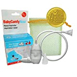 BabyComfy Nasal Aspirator - The Snotsucker - Hygienically & Safely Removes Baby's Nasal Mucus (Clear)
