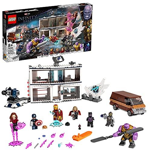 LEGO 76192 Marvel Super Heroes Avengers: Endgame - Letztes Duell Set, Spielzeug für Kinder ab 8...