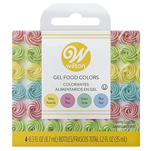 Wilton Gel Food Color Set, Primary