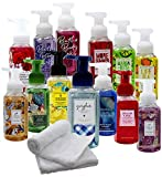 Body Work's Gentle Foaming Hand Soap Assorted 5 Pack With 2 Towels - Niro Assortment