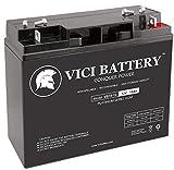 VICI Battery VB18-12 - 12V 18AH Replacement for John Deere 155C 12V 18Ah Lawn and Garden Battery