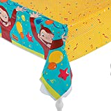 Curious George Party Plastic Table Cover