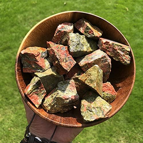 Simurg Raw Unakite Stone 1lb Rough Unakite Rocks for...