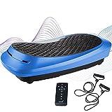 skandika 4D Vibrationsplatte V2500   4D Vibration, Curved Design, Oszillierende Frequenz, sehr leise, 30...