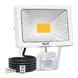 CLY Projecteur LED Avec Détecteur, 50W Spot LED Avec Détecteur de Mouvement,...