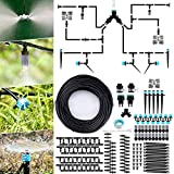 Jeteven Kit d'irrigation Goutte, 40M Kit Micro Irrigation Goutte à Goutte...