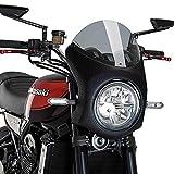 Puig 9596H RETRO FAIRING [CARBON PRINT/SMOKE] Kawasaki Z900RS (18-) プーチ ビキニ カウル