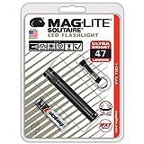 Mag-Lite SJ3A016 Solitaire Mini Lampe de Poche LED Métal Noir 8 cm LED...
