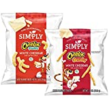 Simply Variety Pack, Cheetos White Cheddar Puffs & Crunchy, 0.875oz (36 Count)
