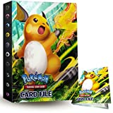 Album de Pokémon, ZoneYan Pokémon Cartes Album, Classeur pour Pokemon, Livre...