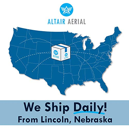 Product Image 2: Altair Aerial Dagger Foldable GPS Drone with 4K UHD Camera for Adults, 5G Compatible, Brushless Motors, Optical Flow Stabilization System, Auto Return, Weighs Less than 0.55 lbs (Lincoln, NE Company)