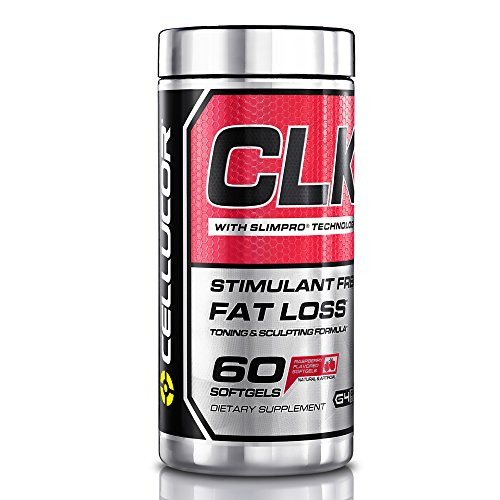 Cellucor CLK Stimulant Free Weight Loss Supplement with CLA, L-Carnitine & Raspberry Keytones, Lose Fat, 60 Softgels, G4