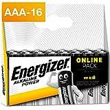 Energizer Pack de 16 Piles AAA Energizer Alkaline Power