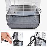 Furpaw Couverture de Cage, Housses pour Cages à Oiseaux Maille...