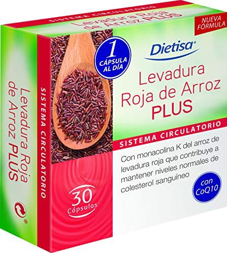 Dielisa - Levadura Roja de Arroz Plus - 30 cápsulas