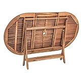 Estexo® Akazienholz Gartenmöbel Set – klappbar - 3