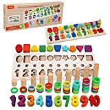 Felly Jouet Montessori Mathématiques Bébé 1 2 3 Ans, Jeux Éducatif Puzzles...